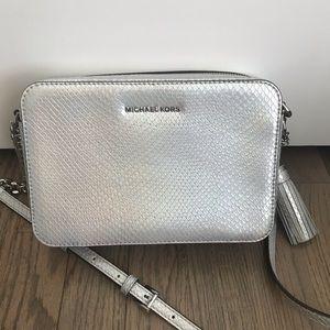 Michael Kors Ginny Rainbow Iridescent Crossbod Bag